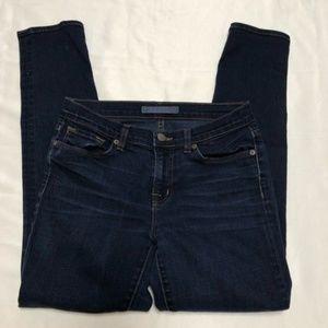 J Brand Dark Washed Skinny Jeans
